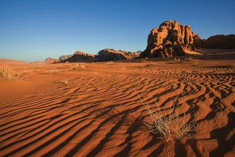 Jordanien Sehenswürdigkeiten, Wüste