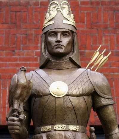Kasachstan Geschichte: Unabhängigkeits Denkmal