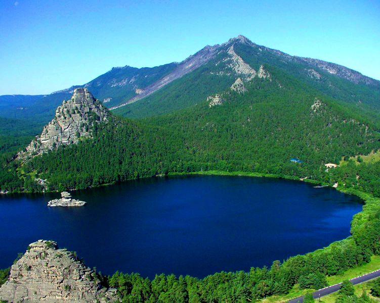 Kasachstan Natur, Sehenswürdigkeiten