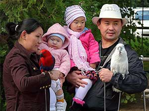Kasachstan Menschen, Familie, Kasachen, Kasachstaner