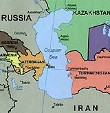 Kaspisches Meer Karte