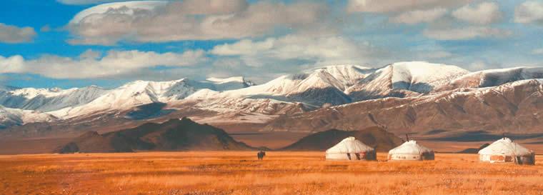 Mongolei Landschaft