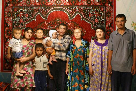 Usbeken, Usbekistan Leute