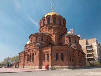Alexander-Newski-Kathedrale, Nowosibirsk