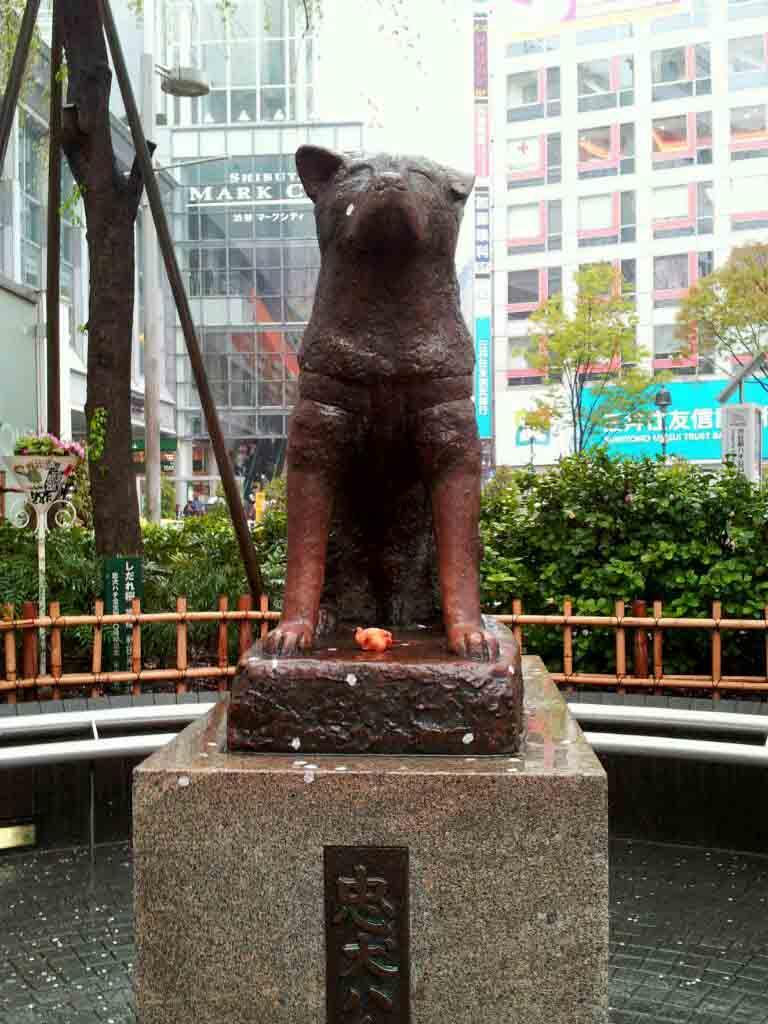 Hachiko-Statue Shibuya