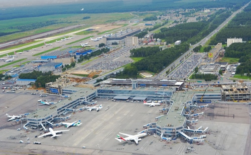 Moskau Flughafen Airport Domodedovo