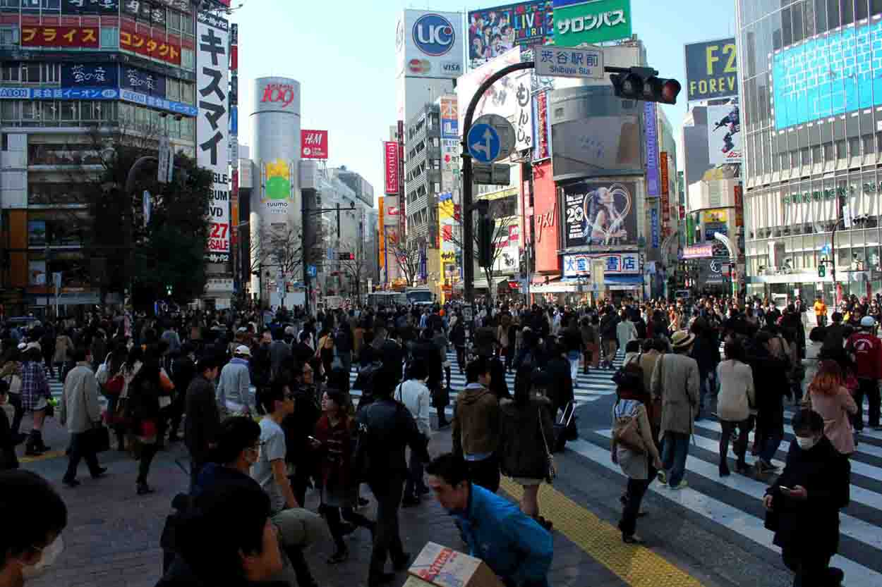 Shibuya Crossing Kreuzung