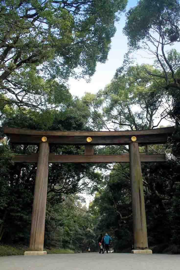Toori am Meiji-Schrein Tokyo