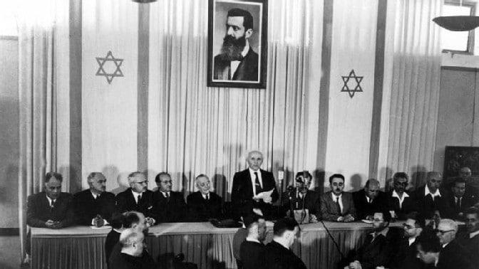 Israel Staatsgründung 1948