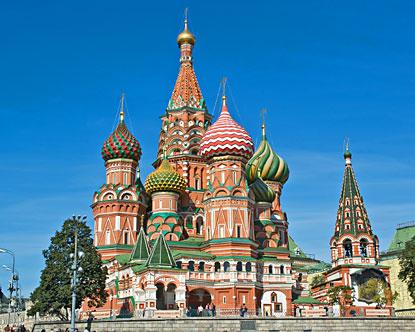 Moskau Sehenswürdigkeiten: Basilius Kathedrale