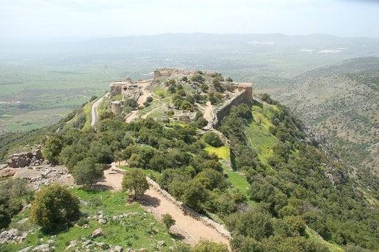 Nimrod Burg Festung, Israel