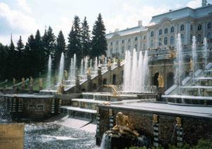 Sankt Petersburg Sehenswürdigkeiten: Schloss Peterhof