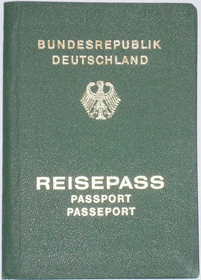Grüner Reisepass, Vorläufiger Reisepass