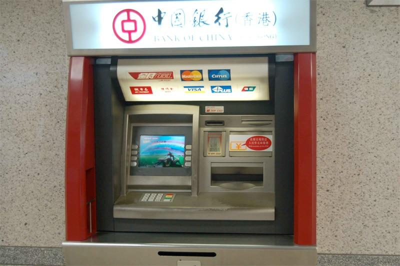 Geldautomat Hong Kong