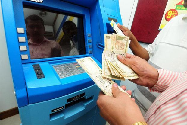 Geldautomat Indien