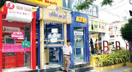Geldautomat Kambodscha, ATM