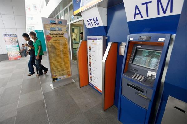 Geldautomat Malaysia, ATM