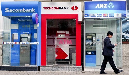 Geldautomaten ATM Vietnam