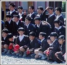 japanische schulklasse
